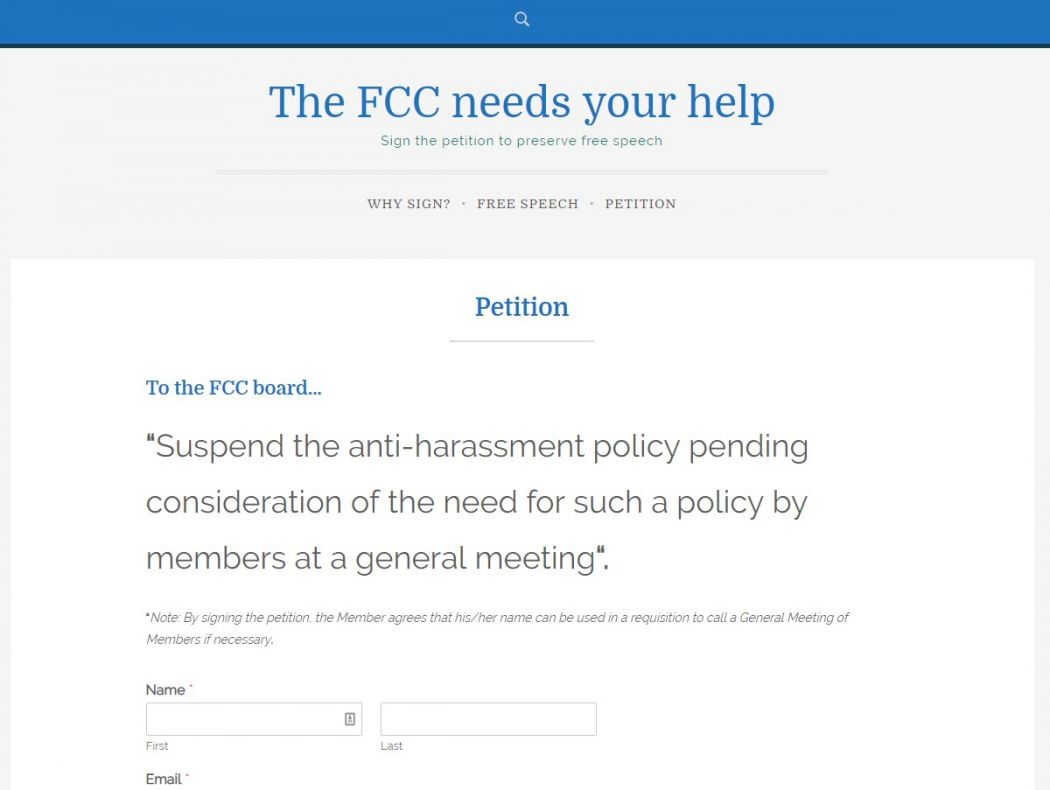 save the FCC