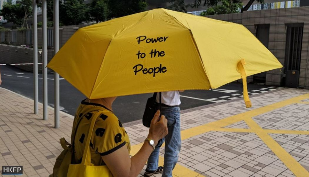 occupy umbrella nine