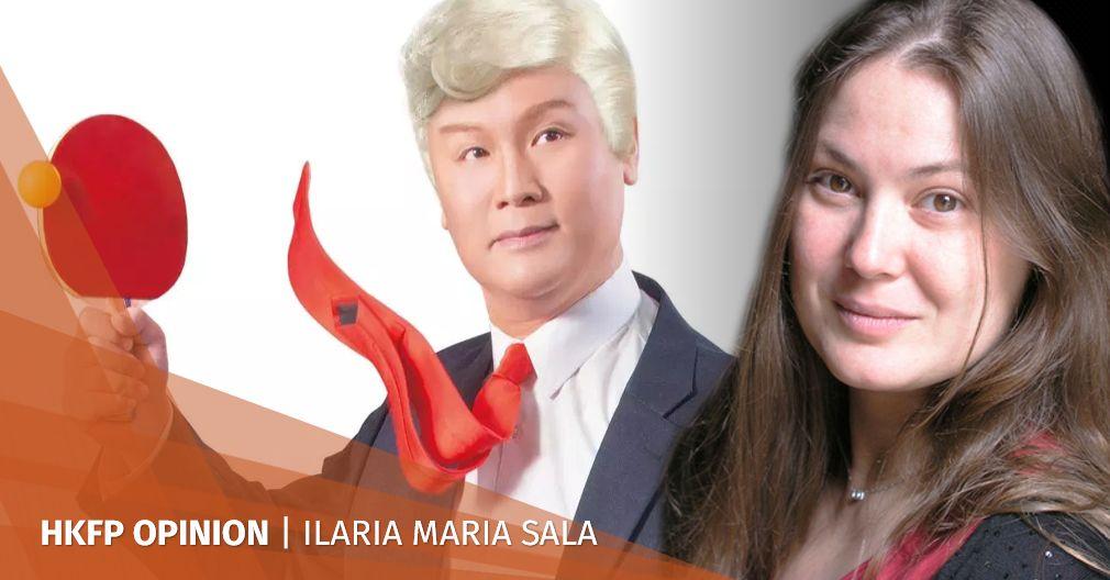 Normalising communist aesthetic: Cantonese opera-singing Trump in Hong Kong not so funny after all | Hong Kong Free Press HKFP