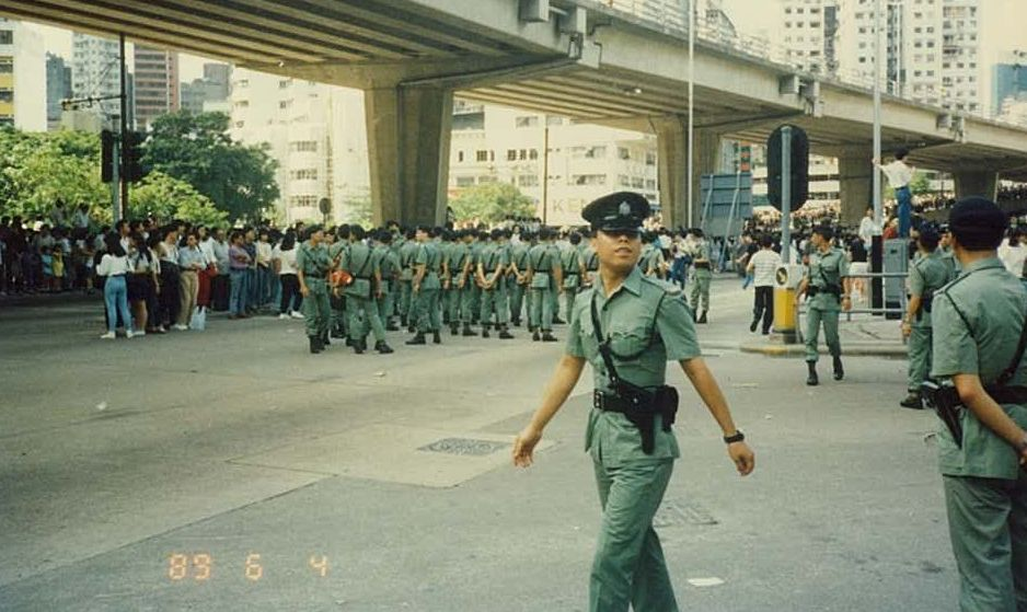 June 4 Hong Kong protest tiananmen 1989