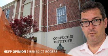 Confucius Institute Benedict Rogers