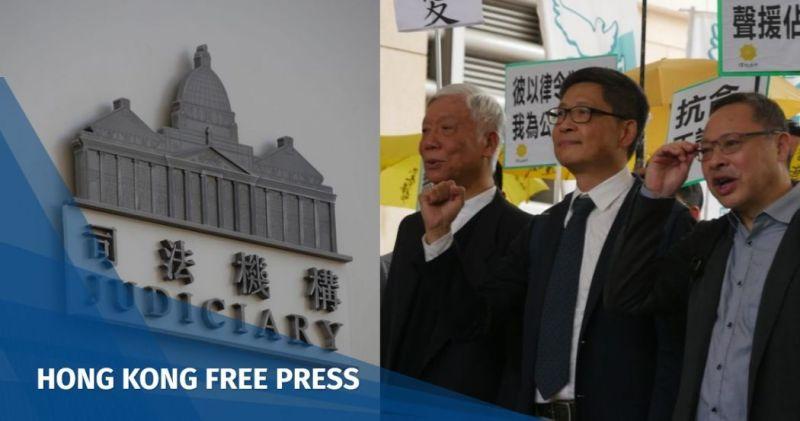 judiciary occupy trio