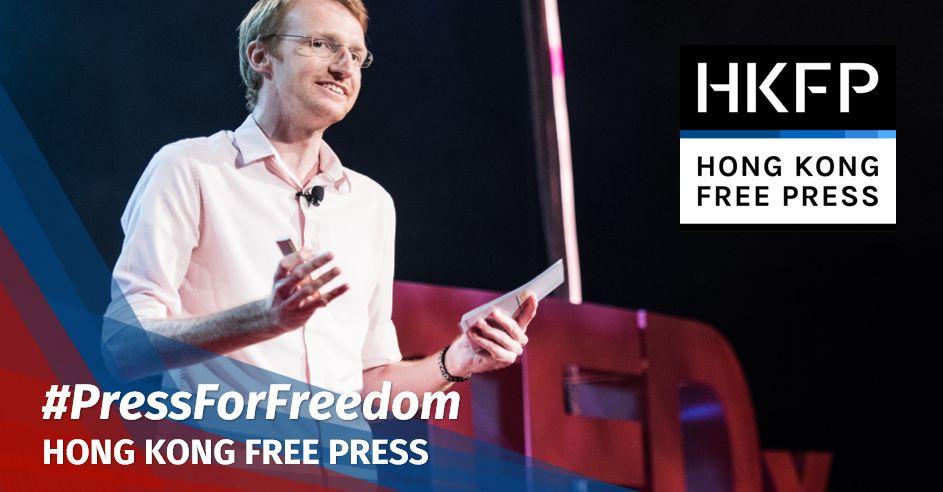 tom grundy hong kong tedx free press