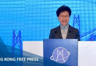 carrie lam greater bay area