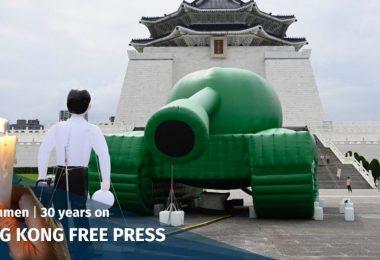 taiwan tank man tiananmen massacre