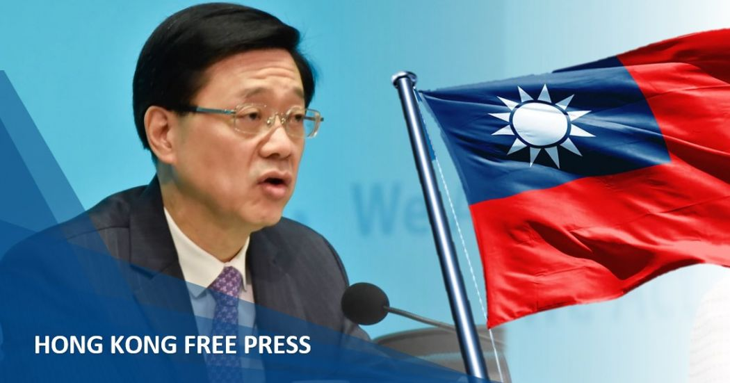 John Lee Taiwan