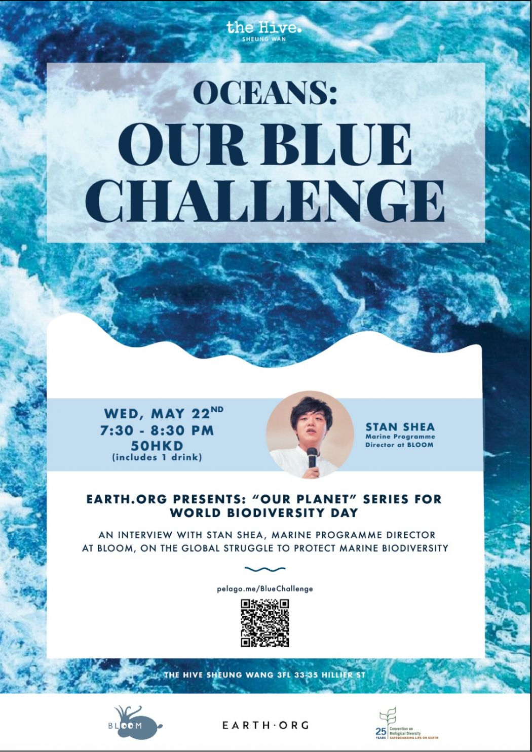 blue challenge earth.org hong kong hive