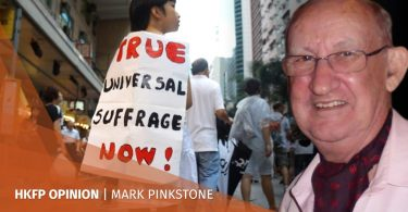 mark pinkstone hong kong democracy