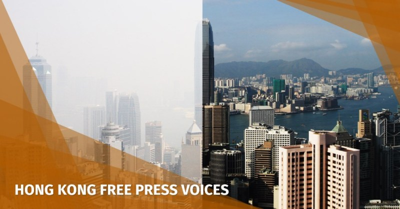 hong kong road pricing polluition
