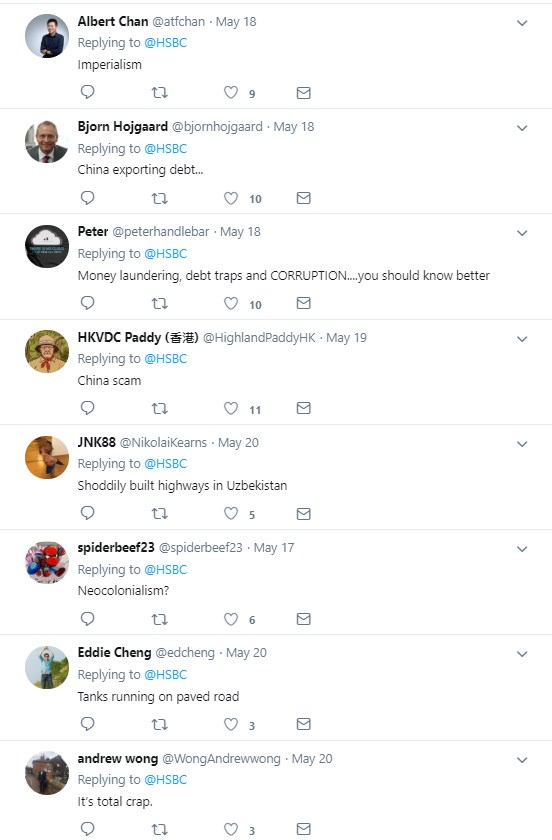 HSBC tweet backfires spectacularly after asking followers