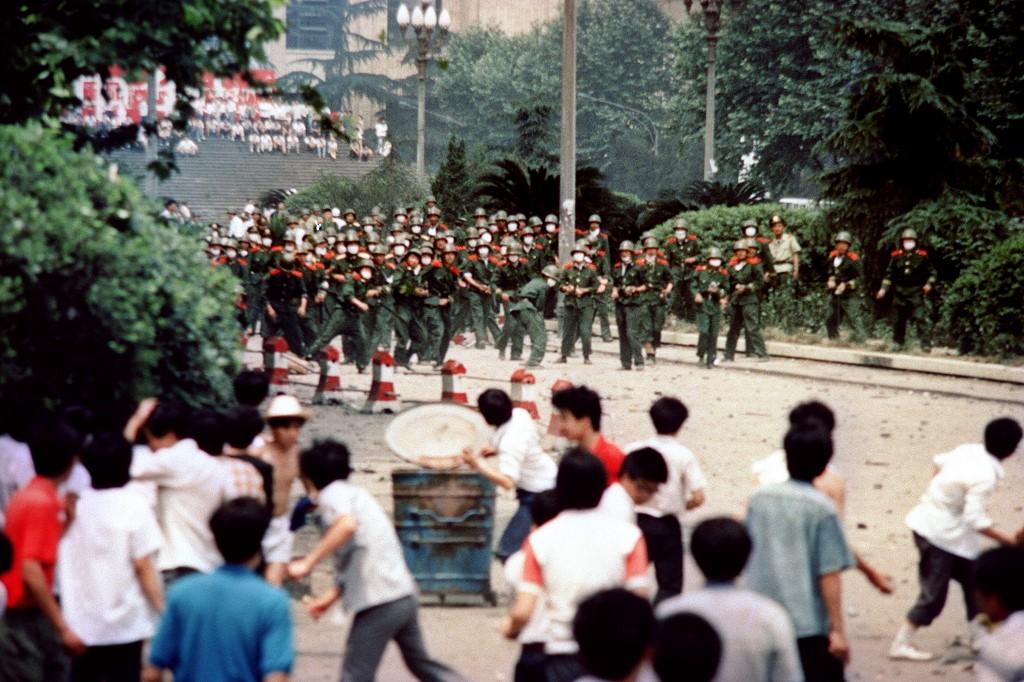 chengdu protest 1989