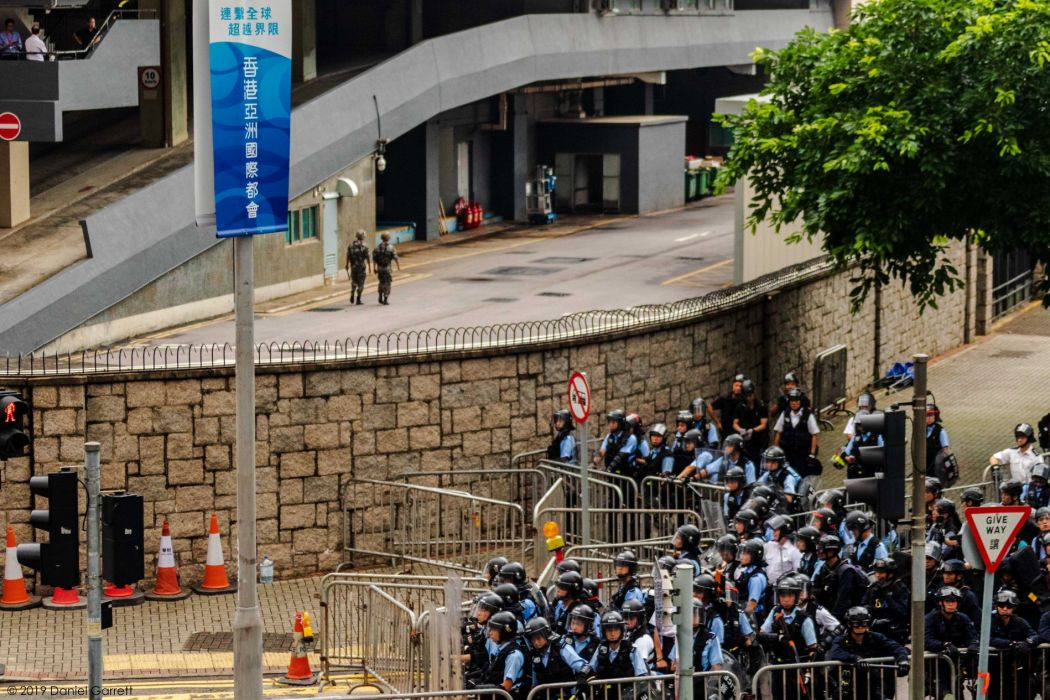 Extradition protest