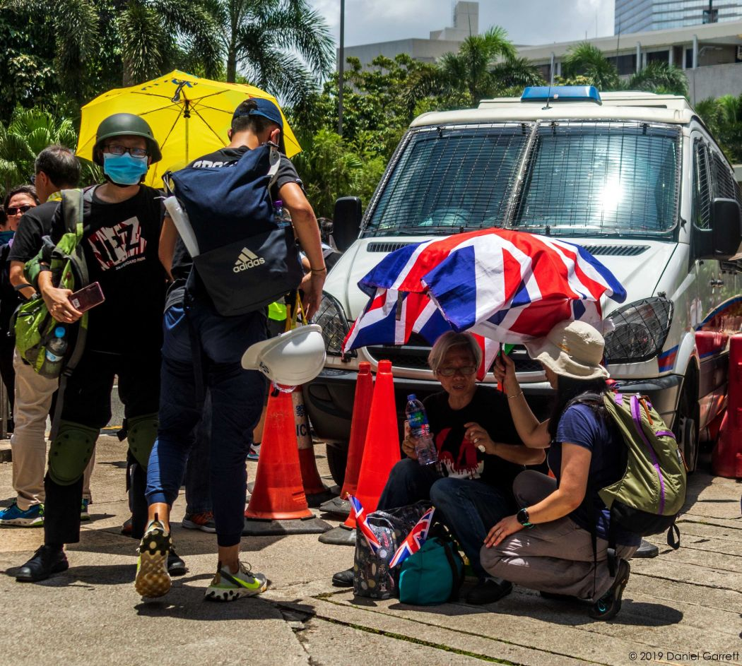 Anti-extradition protest Friday June 21