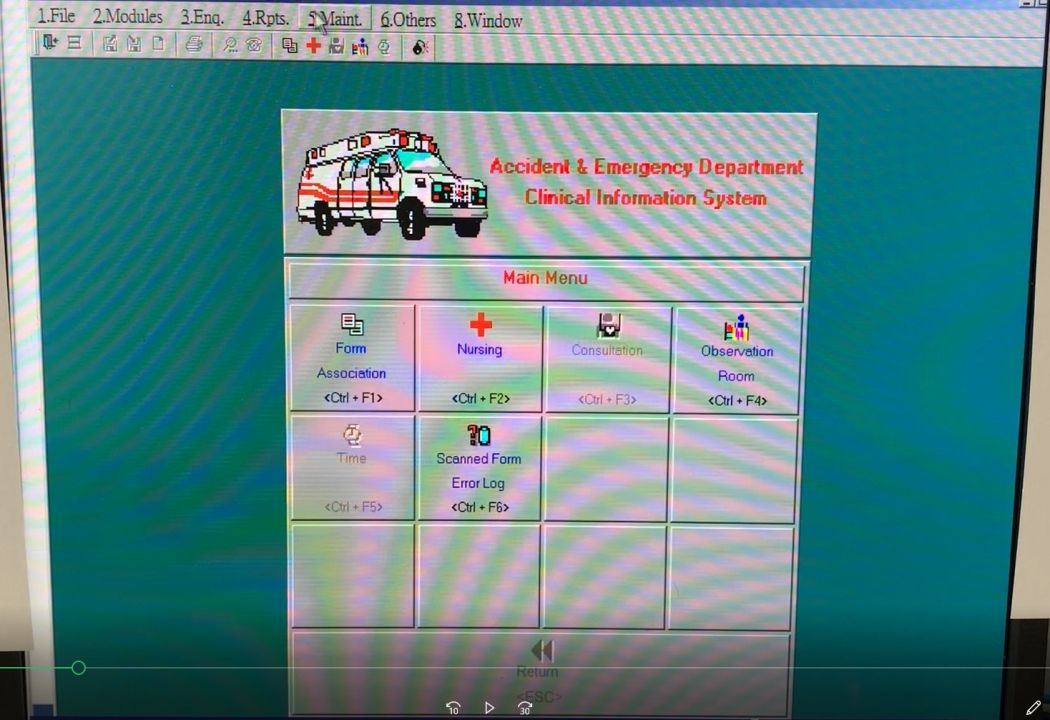 Accident and Emergency Department Clinical Information System