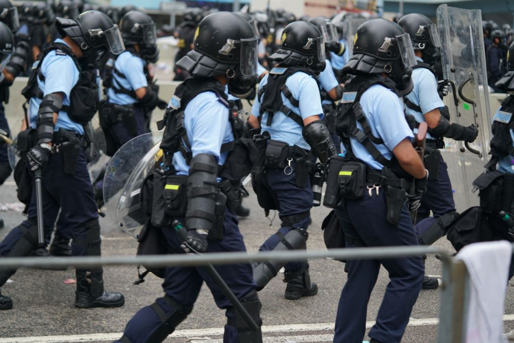 Very restrained' - Hong Kong police say 150 rounds of tears