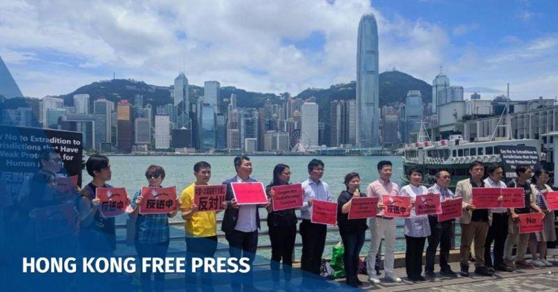 extradition bill protest