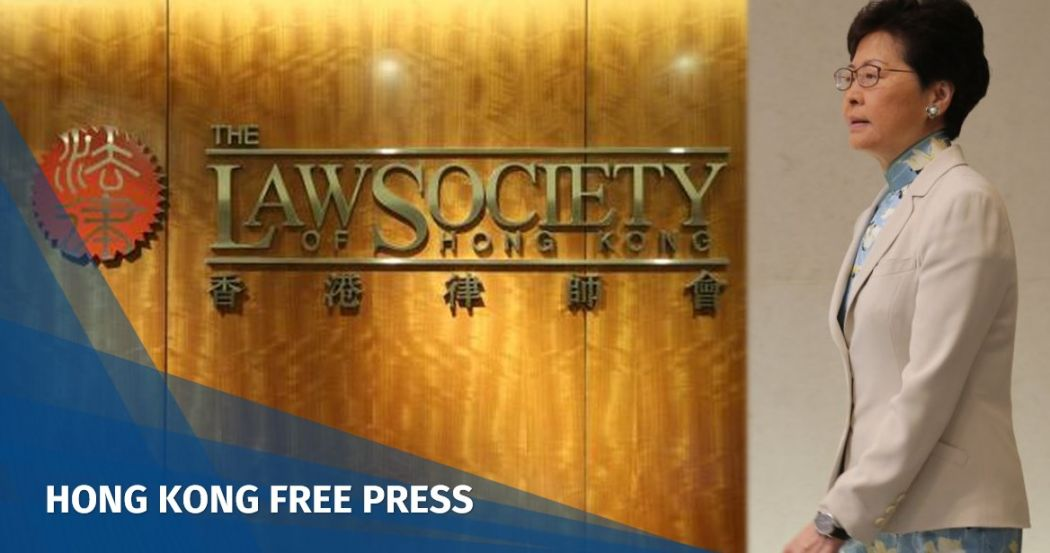 Carrie Lam Law Society extradition