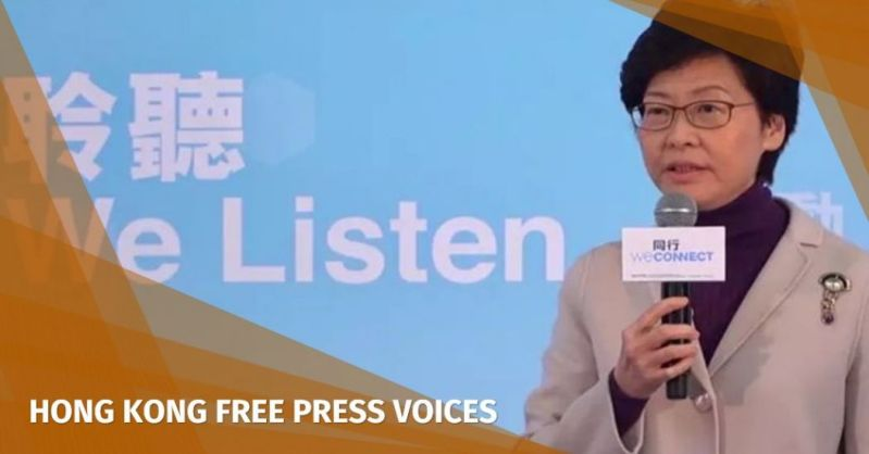 carrie lam we listen