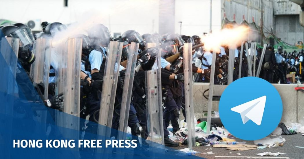 telegram hong kong protest extradition