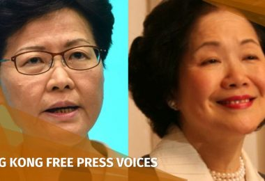 carrie lam anson chan