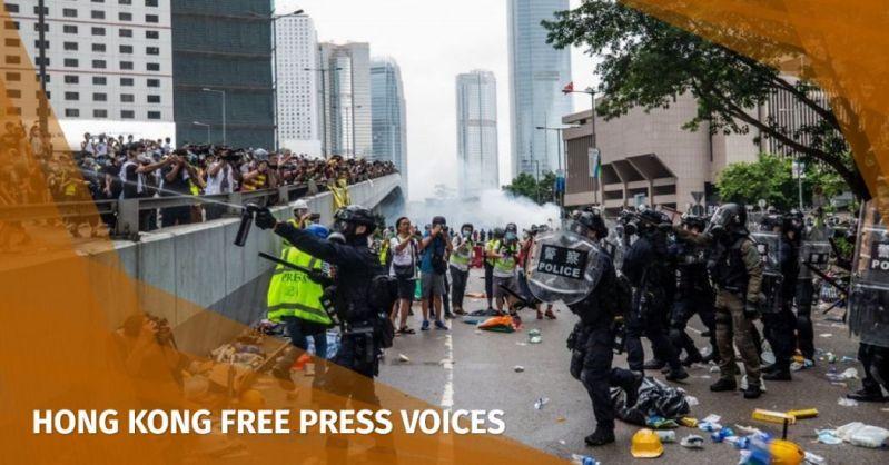 June 12 police tear gas pepper spray rubber bullets