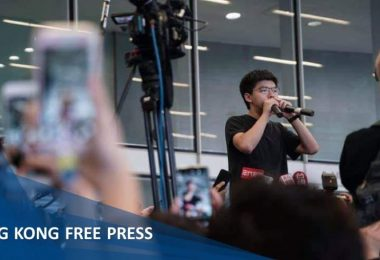 joshua wong extradition