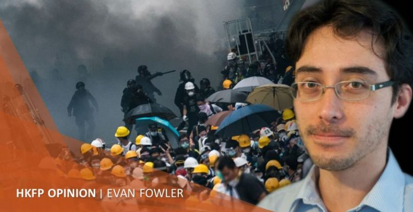 Evan Fowler extradition protests