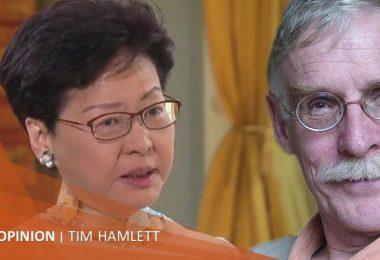 Tim Hamlett Carrie Lam