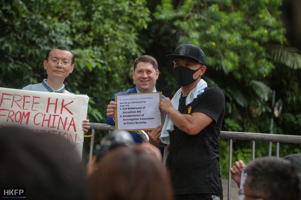 Isaac Yee june 26 china extradition consulates