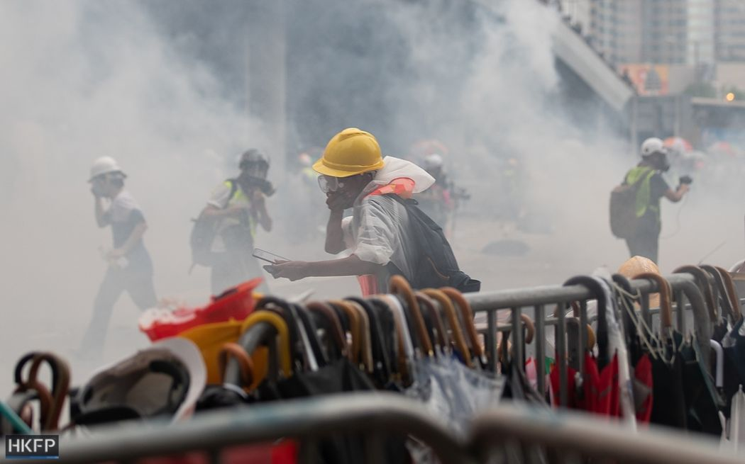 tear gas china extradition protest june 12 2019 Photo May James (19) (Copy)