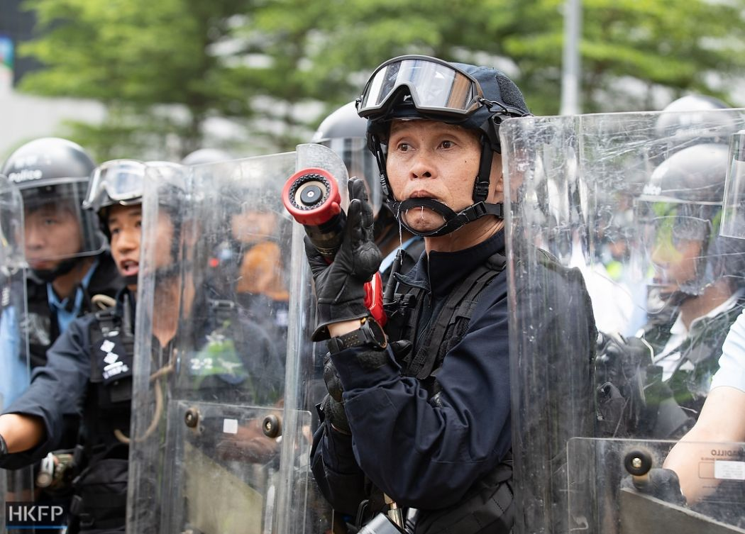police china extradition protest june 12 2019 Photo police May James (19) (Copy)
