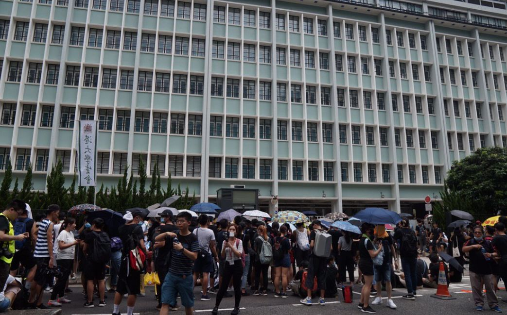 Young people look to flee amid extradition bill fury
