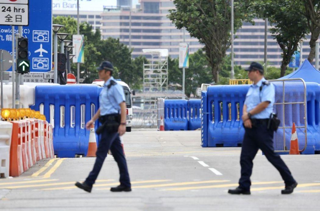 road closure protest