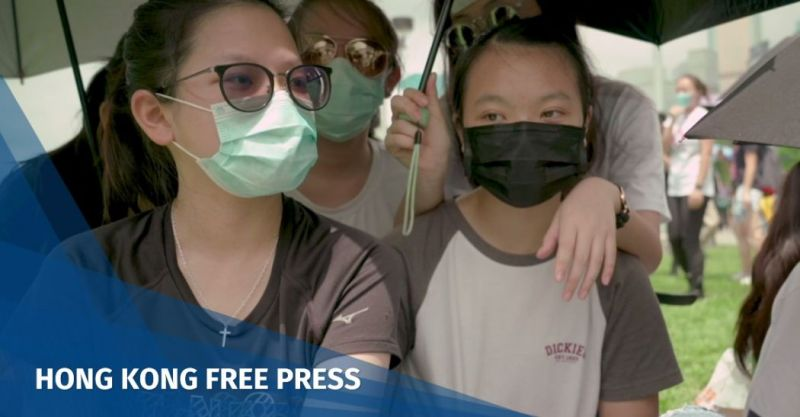 China extradition protest
