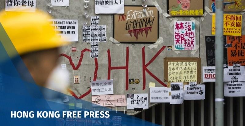 china extradition lennon wall