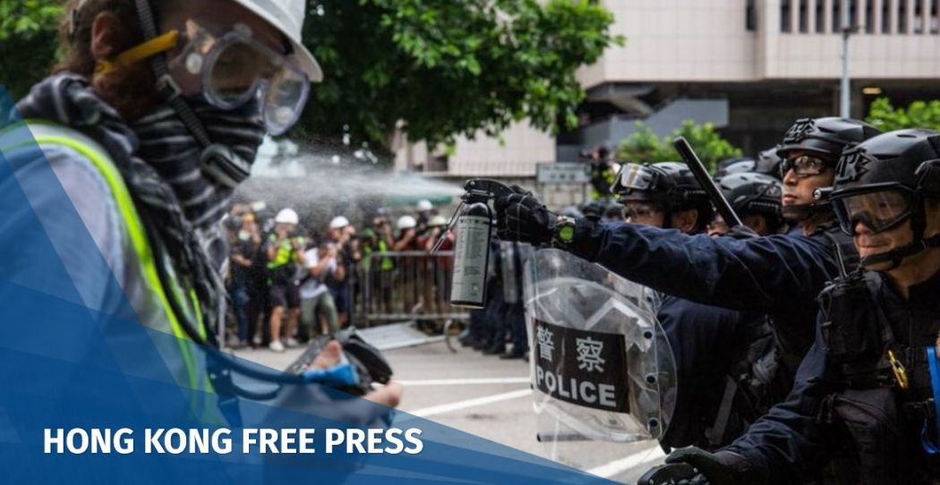 Hong Kong police chief backs down on categorisation of