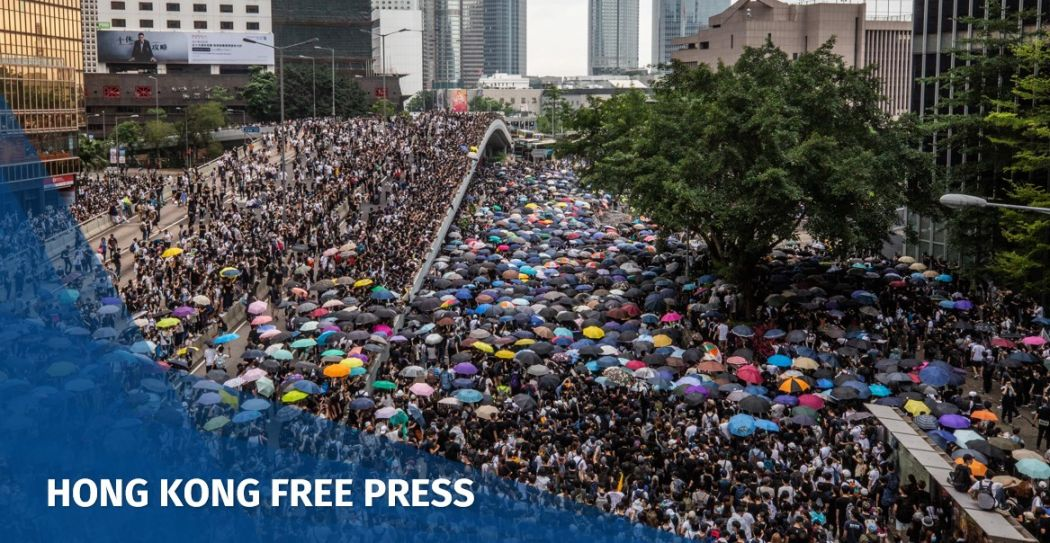 China extradition march protest