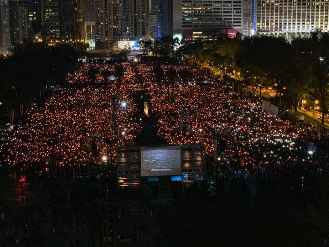 tiananmen massacre hong kong