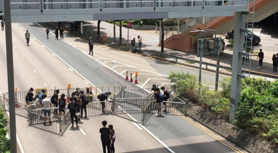 Friday June 21 anti-extradition law occupation protest