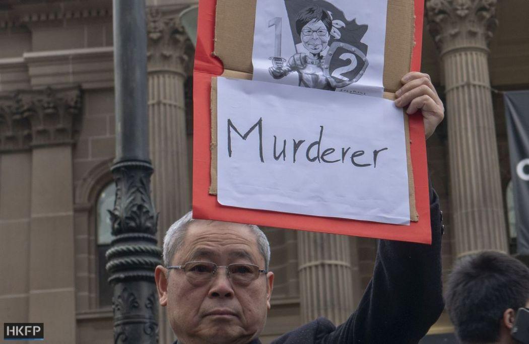 australia extradition protest