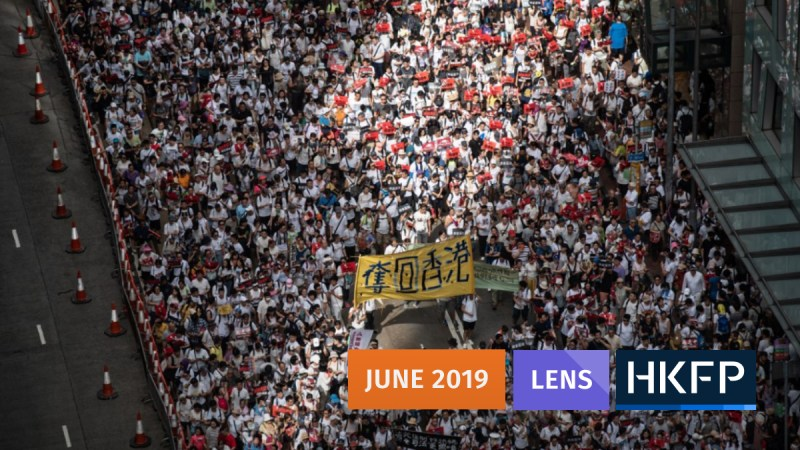 2019 one million protest