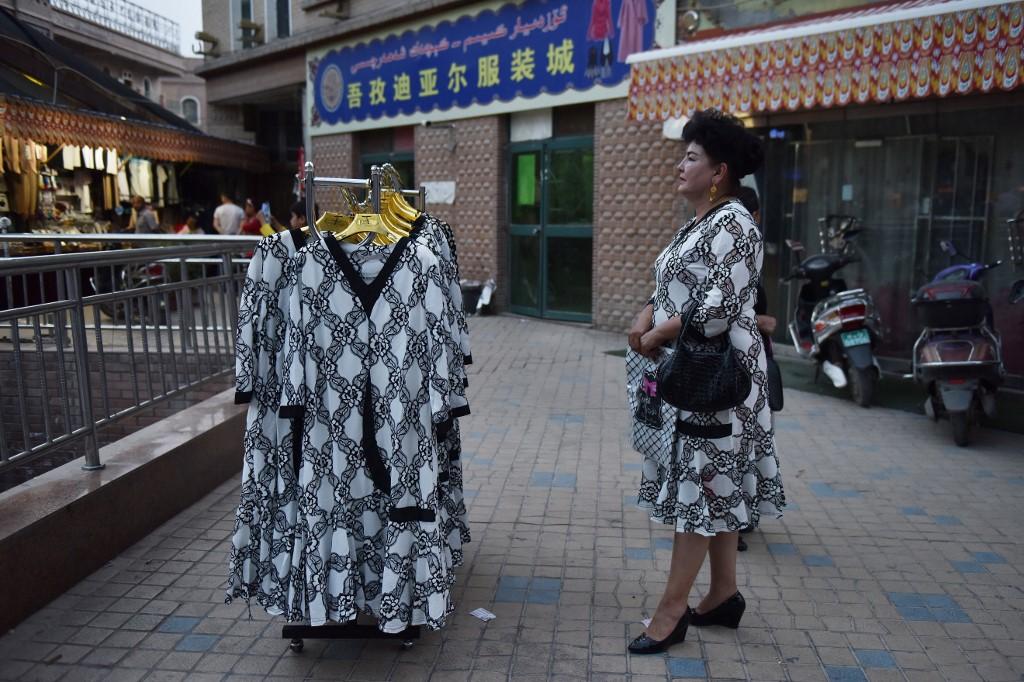 xinjiang woman