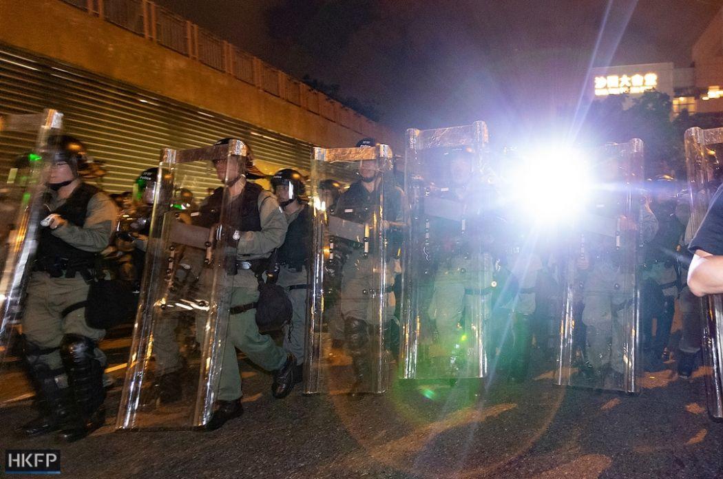 riot police 14 july sha tin china extradtiion (28)