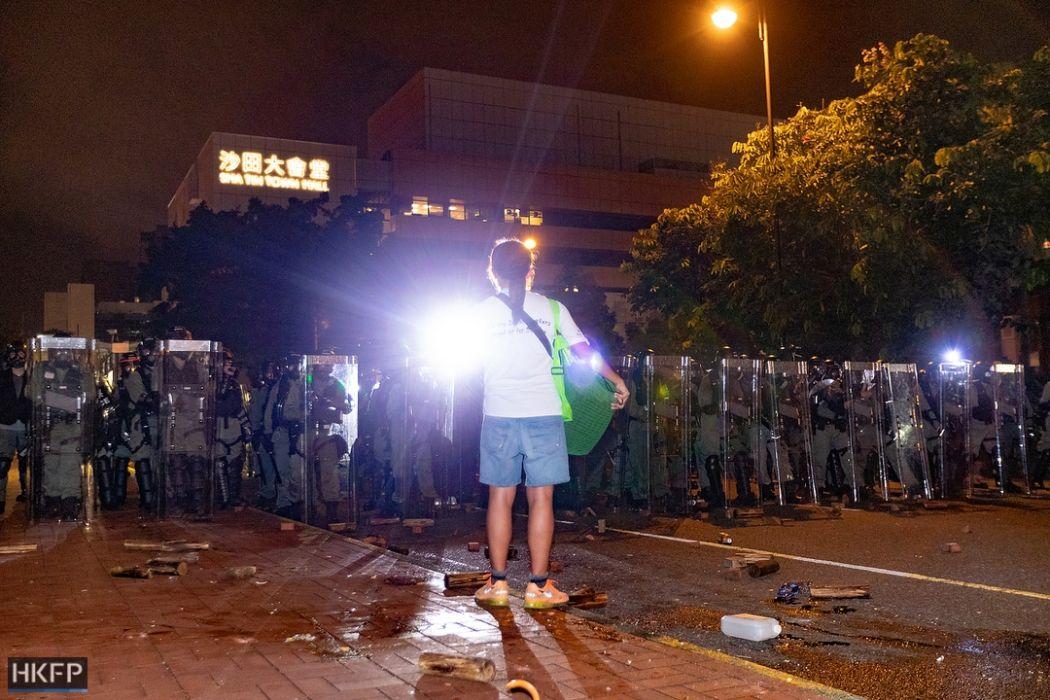 14 july sha tin china extradition