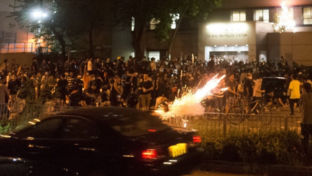 Tin Shui Wai fireworks