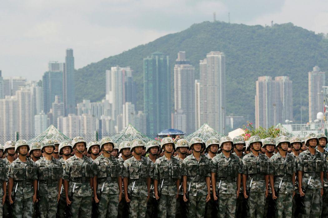 people's liberation army hong kong a