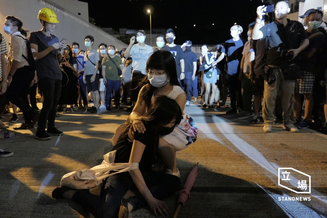 Hong Kong protests: Activists disrupt rush hour trains