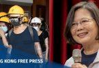 taiwan tsai ing-wen legco storming