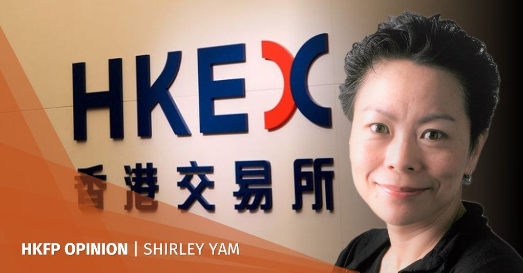 shirley yam hkex stock exchange
