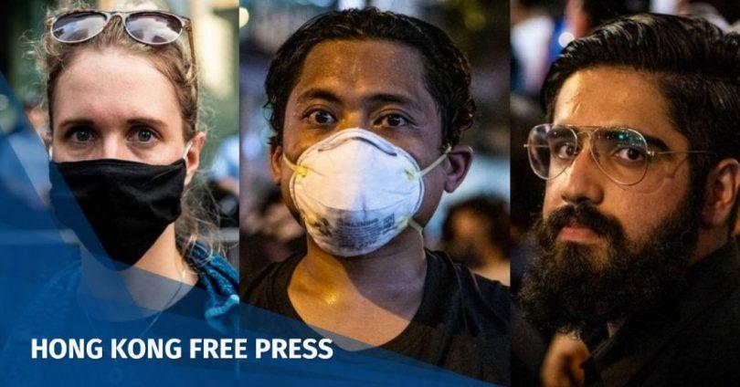 Hong Kong ethnic minorities protest Laurel Chor